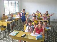 Lớp tiếng Anh thiếu nhi năm học 2013-2014